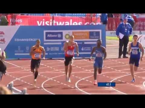 Men's 400m T20 | semi-final 1 | 2014 IPC Athletics European Championships Swansea
