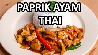 Jom kita lihat resepi Ayam Masak Paprik Thai special. Hidangan ini adalah hidangan kegemaran Che Nom, tapi Che Nom hanya sukakan kuah paprik yang ...