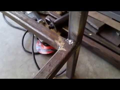 MIG Welding Project - Steel Work Bench
