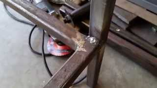 MIG Welding Project - Steel Work Bench