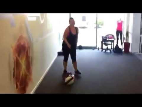 Loren Kicking Ass In 'The Zone' @ Snap Fitness Kawana Sunshine Coast Personal Trainer