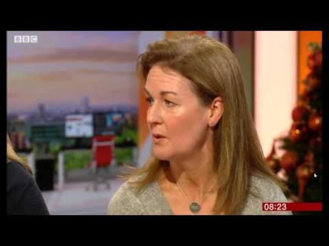 Nicola Murrells 2nd interview on BBC Breakfast telly  23 12 2016