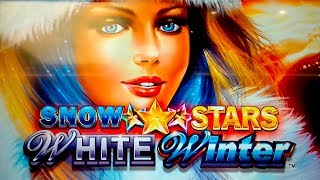 Snow Stars White Winter Slot - NICE SESSION, ALL FEATURES!