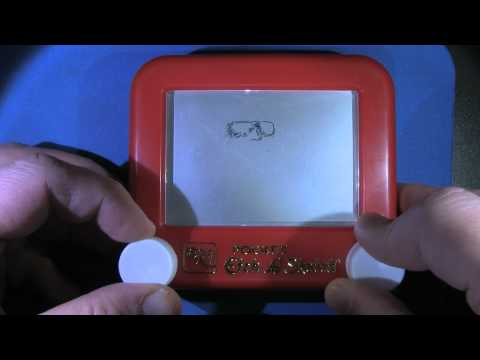 90 Second Stevie Wonder Etch A Sketch
