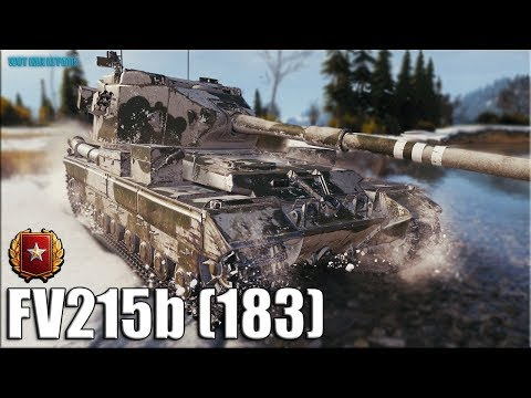 Статист на БАБАХЕ Ранговый бой ✅ World of Tanks FV215b (183)