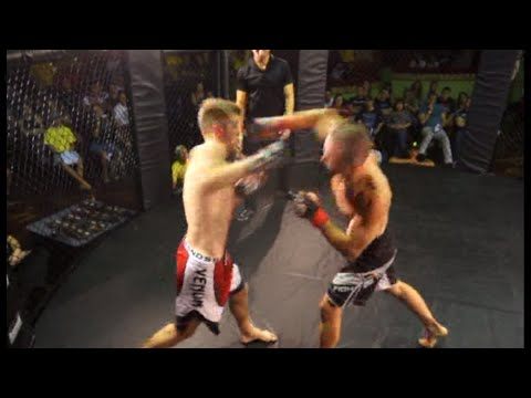 Bruce Price vs Jake Williams - Debut MMA bout highlights