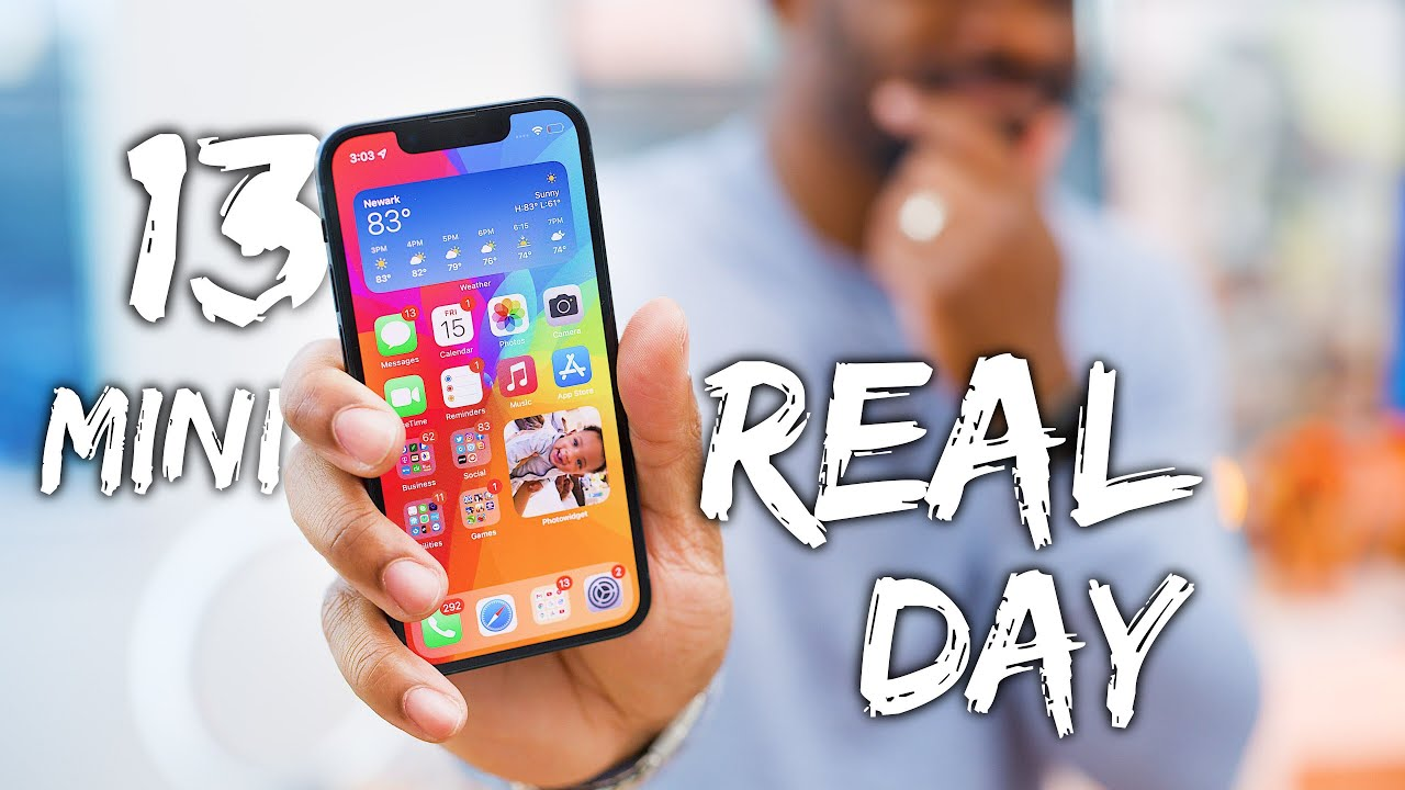 Download iPhone 13 Mini - Real Day in the Life Review!