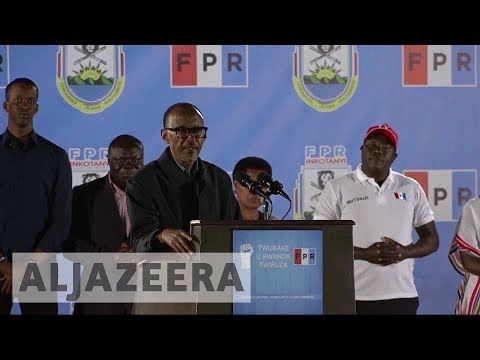 Rwanda election: President Kagame declares victory