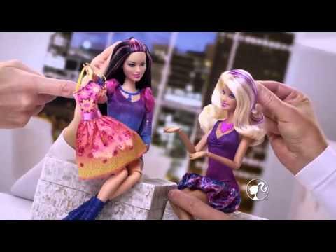 Bup be Barbie thoi trang dao pho (1)