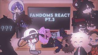Fandoms react pt.3 + bonus(reupload)|| ☆𝑆𝑎𝑦𝑜𝑟𝑛𝑎𝑟𝑎 𝐻𝑎𝑙𝑜☆