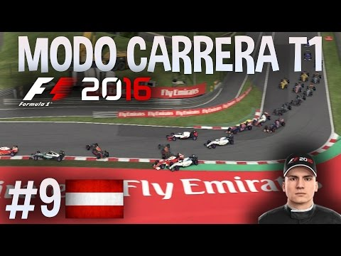 ACCIDENTE MULTIPLE Y SAFETY CAR | F1 2016 MODO CARRERA PROFESIONAL HAAS F1 TEAM PARTE 9: Austria