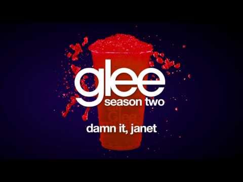 Damn It, Janet | Glee [HD FULL STUDIO]