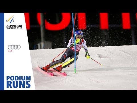 Mikaela Shiffrin | Ladies' Slalom | Levi | 1st place | FIS Alpine