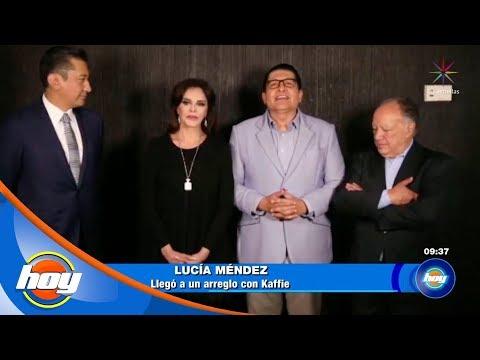 Alex Kaffie se disculpó públicamente con Lucía Méndez tras demanda  | Hoy