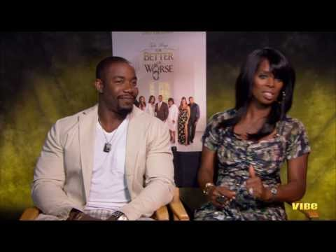 "Tasha Smith and Michael Jai White Talk ""For Better or Worse"""