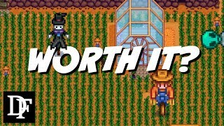 Scarecrows Vs Crows - Worth It? Giveaway! - Stardew Valley Gameplay HD