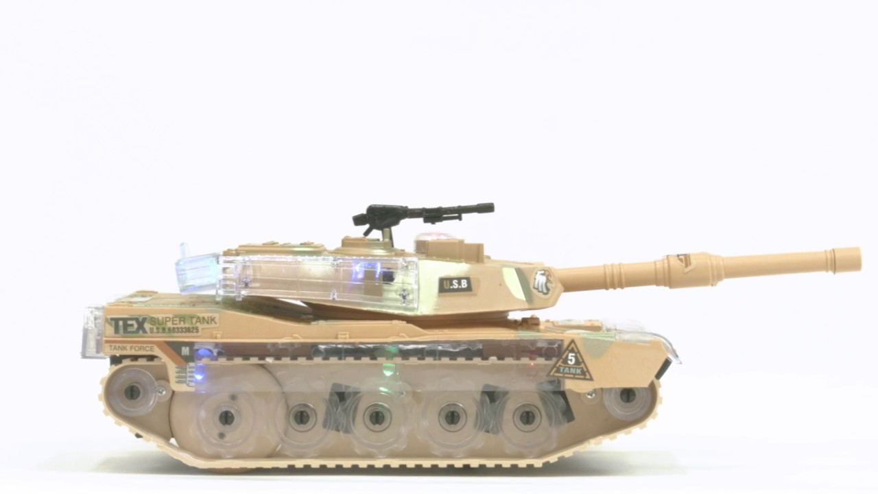 b3e66730d1bfd9 SKY2153 Kids Toy Military Army Tank - YouTube