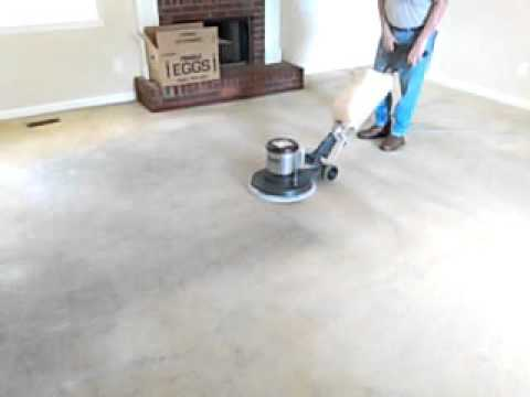 Carpet Cleaning Done Right Bonnet Cleaning Youtube