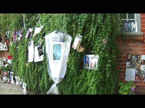 George Michael Tributes at Goring Oxfordshire