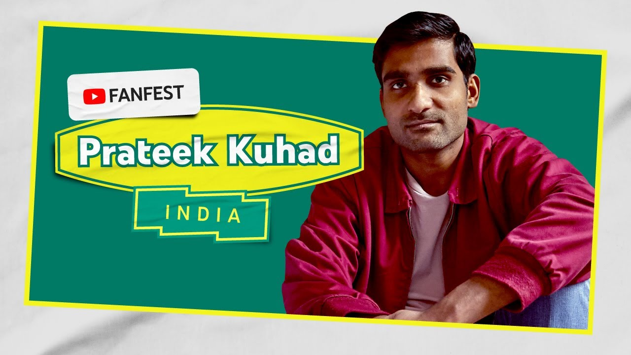 Prateek Kuhad | YouTube FanFest India 2020