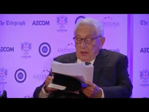 Dr Henry Kissinger, keynote address at the Margaret Thatcher Conference on Security