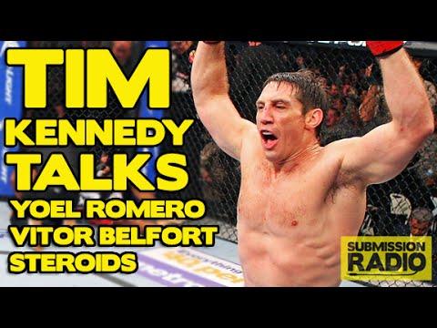 Tim Kennedy talks Yoel Romero UFC 178, Vitor Belfort's Steroid abuse, Chris Weidman, Overeem