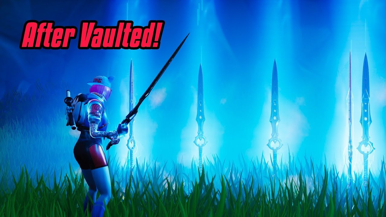 How to get INFINITY BLADE after its been vaulted (Unlimited blades)  Fortnite Glitches Season 7