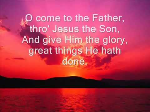 To God Be the Glory FREE DOWNLOAD hymn with lyrics