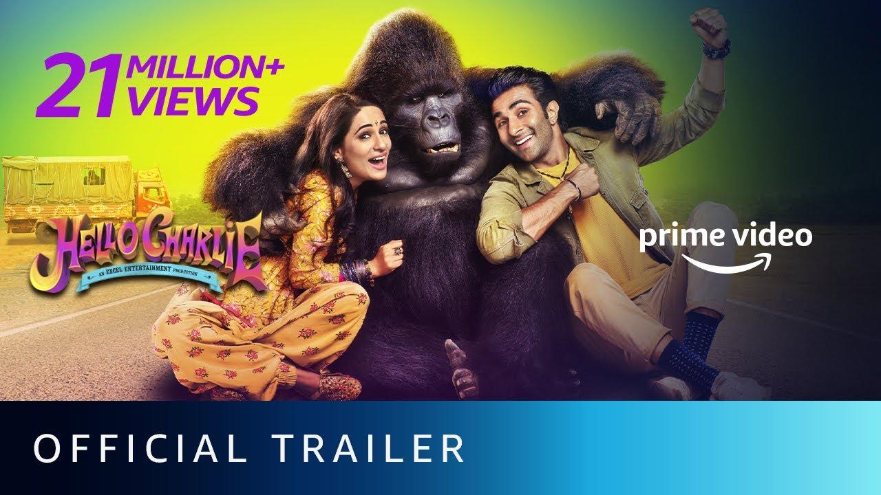 Download Hello Charlie - Official Trailer   Aadar Jain, Jackie Shroff, Shlokka Pandit, Elnaaz Norouzi
