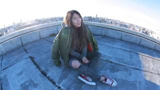 Tokyo rooftop view's amazing! So I decided to take a cover music vi...