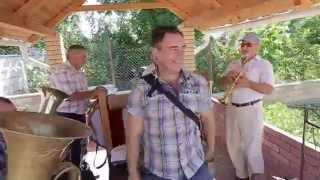 Духовой оркестр дома у невесты г.Каменка