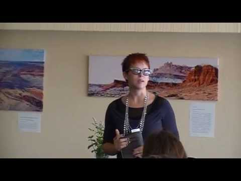 Author Stephanie Carroll Answers Q&A during her Nevada book reading
