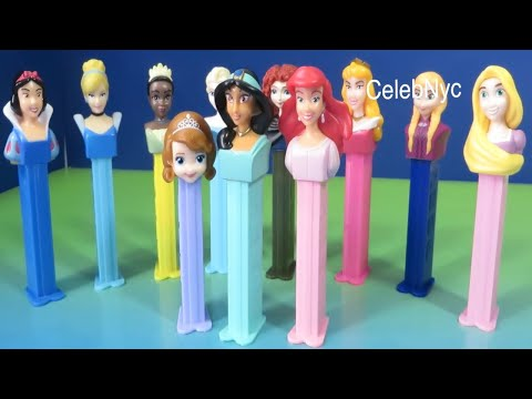 Disney Princess - PEZ Candy & Dispenser Disney Sofia the First, Ariel, Jasmine