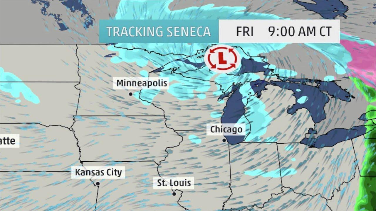 Winter Storm Seneca's Next Move