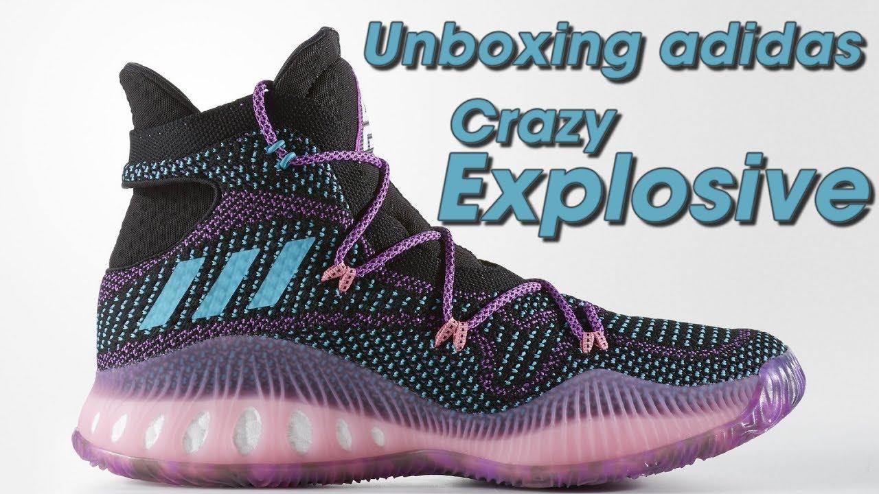 9aa99c41bcc9 Unboxing tênis Adidas Crazy Explosive - Canal 21onze Tênis de Basquete