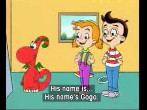 Bé học tiếng Anh với Gogo tập 2 - What his name?