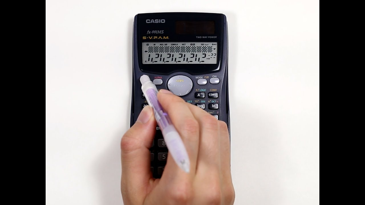 Casio fx-991MS tips and tricks