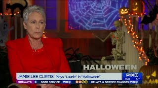 Jamie Lee Curtis on her revenge in upcoming 'Halloween' movie