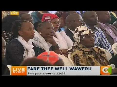 RMS Group Managing Director Wachira Waruru eulogizes veteran broadcaster Waweru Mburu