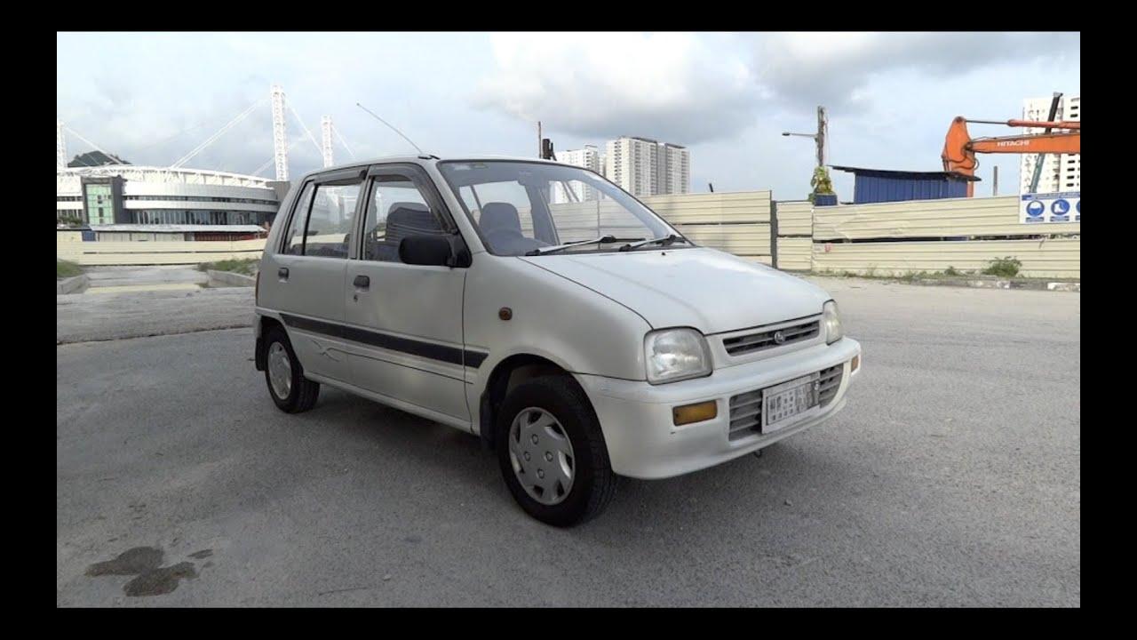 1997 Perodua Kancil 850EZ Auto Start-Up and Full Vehicle