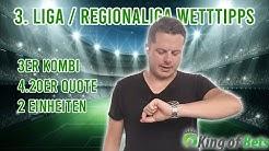 Wett Tipps Kombiwette für die Regionalliga und 3. Liga - King of Bets #Sportwetten