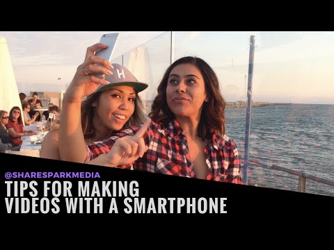 Video Marketing for Small Business - Phone Filming