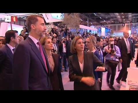 King Felipe defends tourism's importance at Fitur trade fair