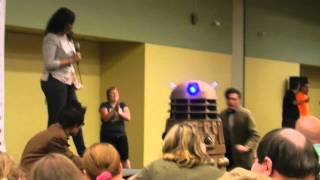 Dalek Bob at Baltimore Comic Con 2012