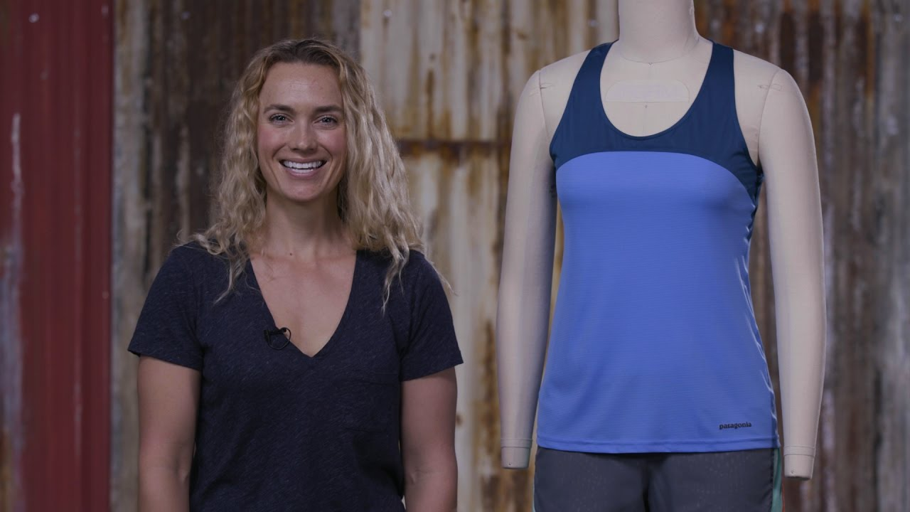 f0f57059cefde Patagonia Women s Windchaser Sleeveless Tank Top - YouTube