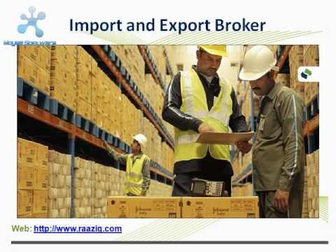 Import and Export Broker
