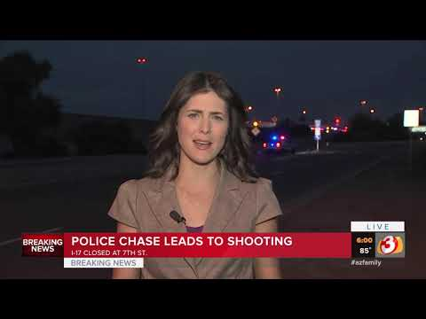 VIDEO: DPS investigates trooper-involved shooting on Phoenix freeway