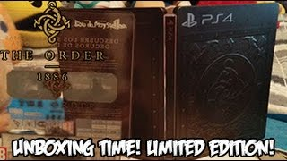 The Order: 1886 Edición Limitada PS4 | ¡Unboxing Time!