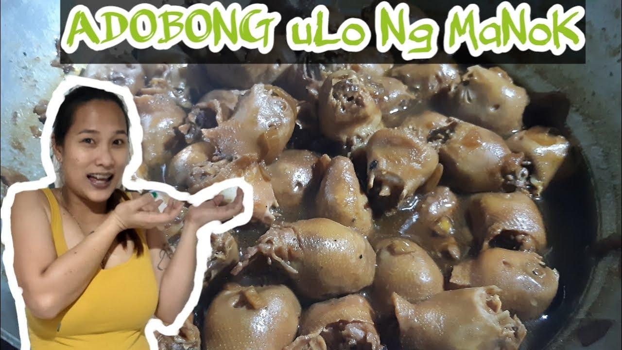 OFW COOKING STYLE | Awesome adobong ulo ng manok | Lasang masarap