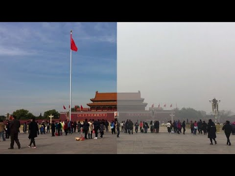 Before & after: Beijing's choking smog